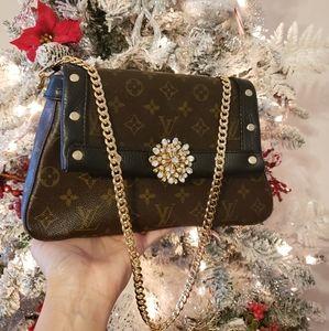 Louis Vuitton Mini Looping Chic Custom Holiday Bag